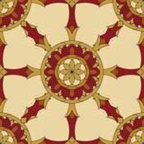 Seamless Vajra pattern Royalty Free Stock Image