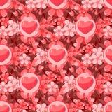 seamless valentin för bakgrund Arkivbild