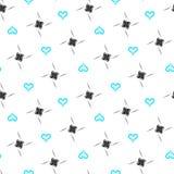 seamless valentin för bakgrundsdag s vektor illustrationer