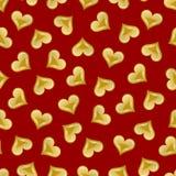 seamless valentin för hjärtamodell s Royaltyfri Fotografi