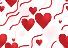 Seamless Valentine�s Stock Photography