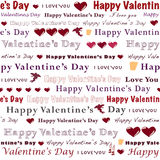 Seamless valentine Royalty Free Stock Photo