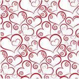 Seamless valentine stock illustration