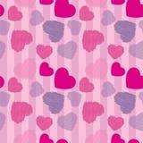 Seamless valentine background Stock Photo