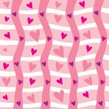 Seamless valentine background Royalty Free Stock Photos