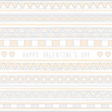 Seamless valentine background2 Royalty Free Stock Images