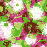 Seamless valentine patterned Royalty Free Stock Photo