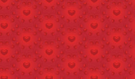 Seamless Valentine`s background Royalty Free Stock Photo