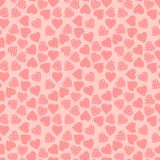 Seamless valentine's day background Stock Photography