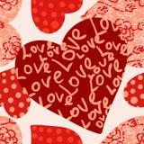 Seamless valentine's day background Royalty Free Stock Photo