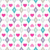 Seamless Valentines Day Background Royalty Free Stock Photos