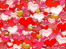 Seamless valentine's day pattern. Stock Photography