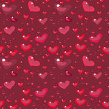 Seamless valentine's ornament Royalty Free Stock Photography