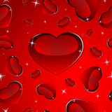 Seamless valentine's pattern Royalty Free Stock Photo