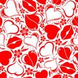 seamless valentiner för dagmodell Arkivbild