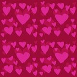 Seamless Valentines day pattern Stock Photography