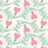 Seamless Valentines Day pattern Royalty Free Stock Photography