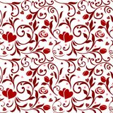 Seamless Valentines Pattern 01 Stock Images