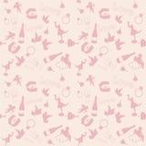 Seamless valentines pattern Stock Photos
