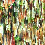 seamless vattenf?rg f?r abstrakt bakgrund Abstrakt blommavallmov?xt stock illustrationer