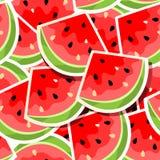 seamless vattenmelon för bakgrund Royaltyfri Foto