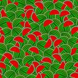seamless vattenmelon för bakgrund Fotografering för Bildbyråer