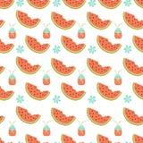 seamless vattenmelon för modell Arkivfoton