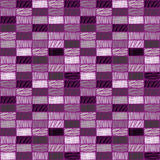 Seamless vecor pattern, repeat dcorative background with rectangles Royalty Free Stock Photography