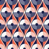 Seamless vector abstract pattern. geometric symmetrical repeating background. Seamless vector abstract pattern. geometric symmetrical repeating background Royalty Free Stock Photography
