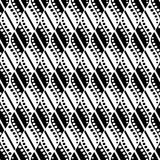 Seamless vector abstract pattern. Geometric symmetrical repeating background in black and white colors. Series of Geometric Decorative Patterns Stock Illustration