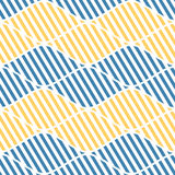Seamless vector abstract pattern. symmetrical geometric repeating background with decorative rhombus. Simle graphic design for web. Backgrounds, wrapping Royalty Free Stock Photography