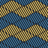 Seamless vector abstract pattern. symmetrical geometric repeating background with decorative rhombus. Simle graphic design for web. Backgrounds, wrapping Stock Images