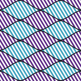 Seamless vector abstract pattern. symmetrical geometric repeating background with decorative rhombus. Simle graphic design for web. Backgrounds, wrapping Stock Photography