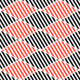 Seamless vector abstract pattern. symmetrical geometric repeating background with decorative rhombus. Simle graphic design for web. Backgrounds, wrapping Stock Photos