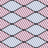 Seamless vector abstract pattern. symmetrical geometric repeating background with decorative rhombus. Simle graphic design for web. Backgrounds, wrapping Royalty Free Stock Image