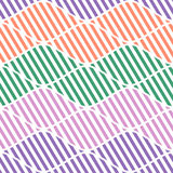 Seamless vector abstract pattern. symmetrical geometric repeating background with decorative rhombus. Simle graphic design for web. Backgrounds, wrapping Stock Photo