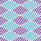 Seamless vector abstract pattern. symmetrical geometric repeating background with decorative rhombus. Simle graphic design for web Royalty Free Stock Images