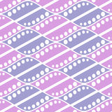 Seamless vector abstract pattern. symmetrical geometric repeating background with decorative rhombus. Simle graphic design for web Royalty Free Stock Photo