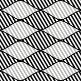 Seamless vector abstract pattern. symmetrical geometric repeating background with decorative rhombus. Simle graphic design for web Royalty Free Stock Image