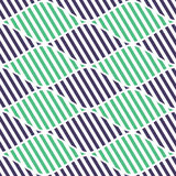Seamless vector abstract pattern. symmetrical geometric repeating background with decorative rhombus. Simle graphic design for web Stock Photo