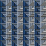 Seamless vector abstract pattern. symmetrical geometric repeating background with decorative rhombus, triangles. Simle graphic des. Ign for web backgrounds Stock Images