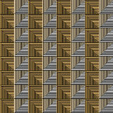 Seamless vector abstract pattern. symmetrical geometric repeating background with decorative rhombus, triangles. Simle graphic des. Ign for web backgrounds Royalty Free Stock Photo