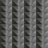 Seamless vector abstract pattern. symmetrical geometric repeating background with decorative rhombus, triangles. Simle graphic des Royalty Free Stock Image