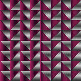 Seamless vector abstract pattern. symmetrical geometric repeating background with decorative rhombus, triangles.. Simle graphic design for web backgrounds Royalty Free Stock Photography