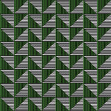Seamless vector abstract pattern. symmetrical geometric repeating background. With decorative rhombus, triangles. Simle graphic design for web backgrounds Stock Images