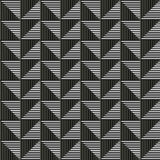 Seamless vector abstract pattern. symmetrical geometric repeating background. With decorative rhombus, triangles. Simle graphic design for web backgrounds Stock Photography