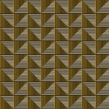 Seamless vector abstract pattern. symmetrical geometric repeating background. With decorative rhombus, triangles. Simle graphic design for web backgrounds Royalty Free Stock Images