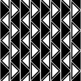 Seamless vector abstract pattern. symmetrical geometric repeating background with decorative triangles. Simle graphic design for w. Eb backgrounds, wallpaper Royalty Free Stock Image