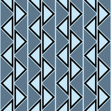 Seamless vector abstract pattern. symmetrical geometric repeating background with decorative triangles. Simle graphic design for w. Eb backgrounds, wallpaper Stock Photography