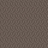 Seamless vector abstract pattern of twisted ropes Stock Photo